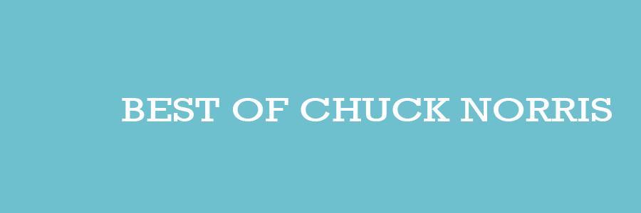 Best of Chuck Norris Witze