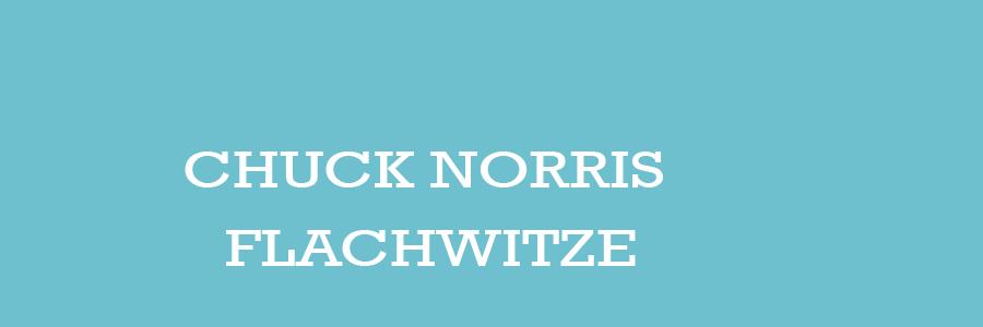 Chuck Norris Flachwitze