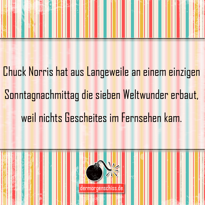 Chuck Norris Weltwunder